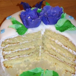 Aunt Bert's White Cake Recipe