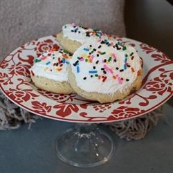 Big Soft Sugar Cookie Cakes Recipe