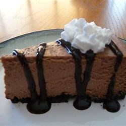 Guinness® and Chocolate Cheesecake