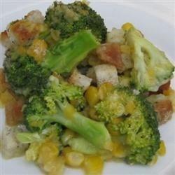 broccoli corn casserole photos