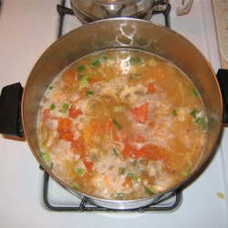 Hot and Sour Shrimp Soup Recipe