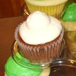 Photo of Double Chocolate-Irish Cream Cupcakes by asteingruby