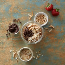 joyful chocolate overnight oats printer friendly