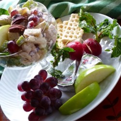 Easy Fruited Chicken Salad Recipe