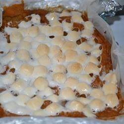 Sweet Potato and Marshmallows!
