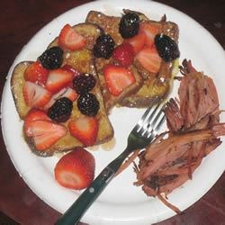 French Toast & Fruit