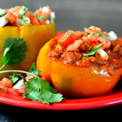 instant pot r beef stuffed peppers printer friendly