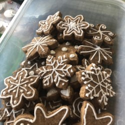Gingerbread Cookie Frosting