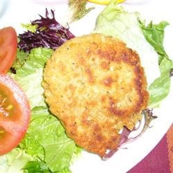 Photo of Garbanzo Bean Patties by Linda S. Gibson