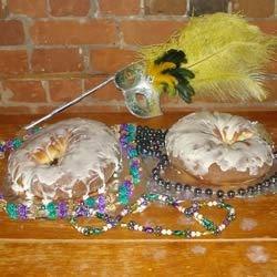King Cake minus the colored sugar