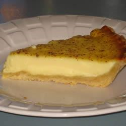 Grandma 's Egg Custard Pie