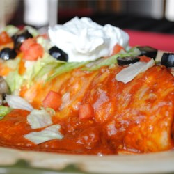Fabulous Wet Burritos Recipe