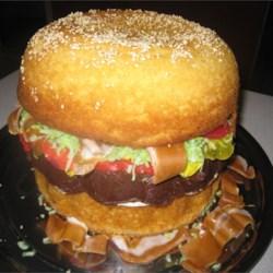 bacon cheeseburger cake recipe photos