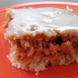 Buttermilk Coconut Bars Recipe