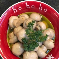 Mary McCormack's Marinated Mushrooms