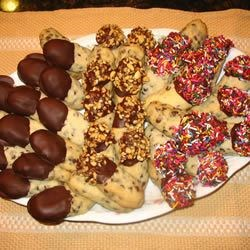 Dipped cookies