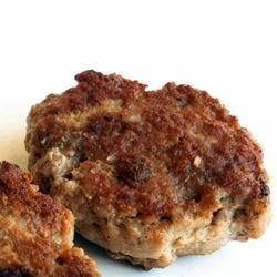 Mom's Turkey Sausage Patties Recipe