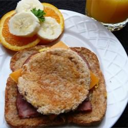 Eggy Doodle Sandwiches Recipe