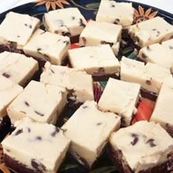Photo of Cookie Dough Brownies  by macandchaz