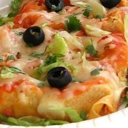 Chicken and Red Bean Enchiladas Recipe