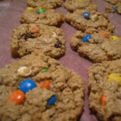 Monster Cookies with M&M's n' choc. chips
