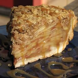 Dutch Apple Pie with Oatmeal Streusel Recipe