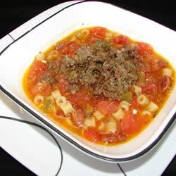 Sausage Bean Chowder