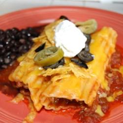 Manicotti Enchiladas