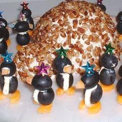 cream cheese penguins photos