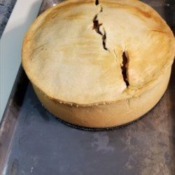 Meat Pie with Hot Water Crust