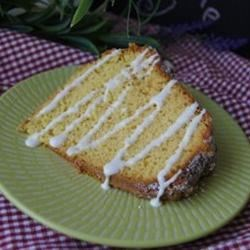 Lemon Pound Cake II Recipe