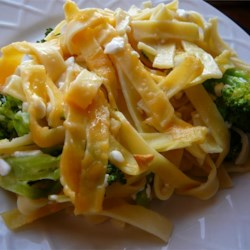 Broccoli Noodles and Cheese Casserole Recipe