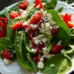 Simplistic Pepper Salad Recipe