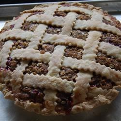 Buffalochef's Strawberry Rhubarb Pie Recipe