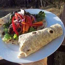 Sesame Lime Steak Wraps Recipe