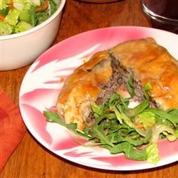 Beefburger Parcels Recipe