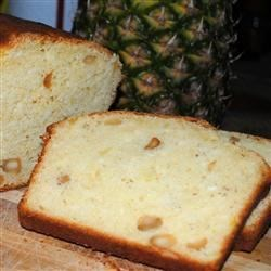 Pineapple Macadamia Nut Bread