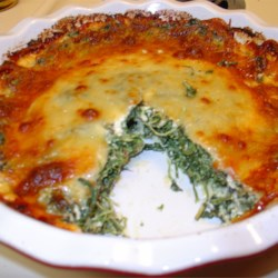 Vegetarian Quiche Recipe: Spinach Muenster Quiche