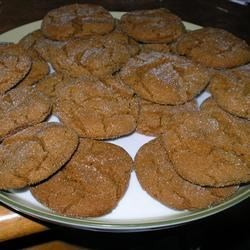 yummy molasses cookies