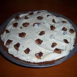 Photo of Peanut-Buttery Candy Pie by ESHEEN