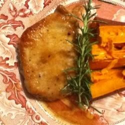 Photo of Pork Loin Chops in Apple Cream by Kathy Midkiff Goins