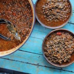 greek lentil soup fakes printer friendly