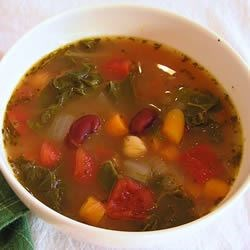 Bean Soup With Kale