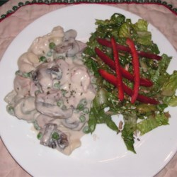 Angela's Alfredo Ham Recipe