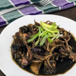 adobong pusit squid adobo recipe photos