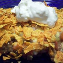 Photo of Nacho Chip Casserole by Kathy