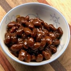 instant pot r smoky korean bbq baked beans printer friendly