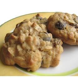 Coffee Liqueur Raisin Cookies