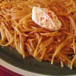 Short Cut Mexican Fideo (Vermicelli) Recipe