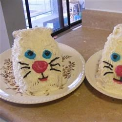 Lemon Cream Bunny Cakes